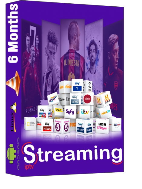 IPTV subscriptions 6 Month